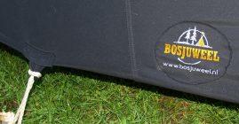 Tent met logo Bosjuweel