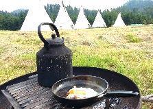 tipi experience tent Bosjuweel