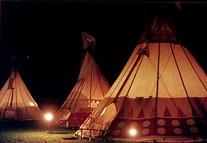 Tipi kopen ⋆ Bosjuweel Tenten Tipi Wigwam Indianentent kopen