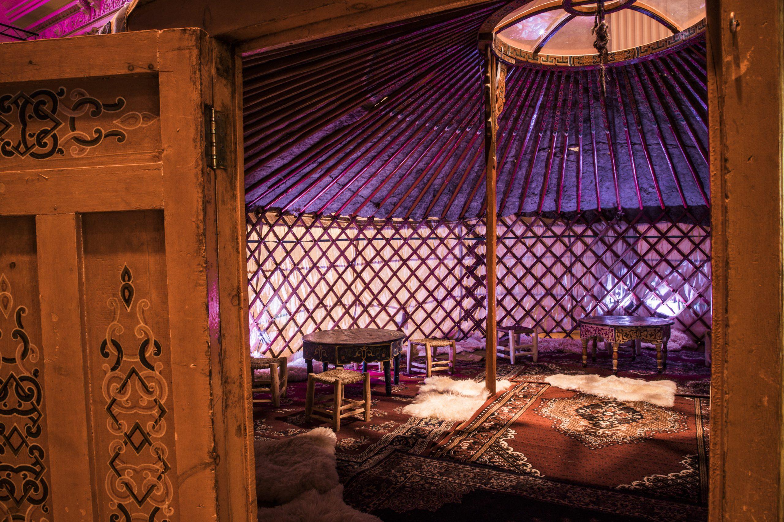 yurt huren decoratie Bosjuweel